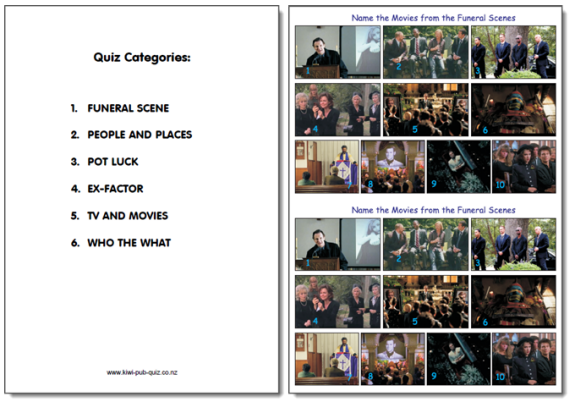 Kiwi Pub Quizconz Page 3
